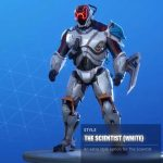 How To Find The Fortnite White Scientist Skin Before Time Runs Out