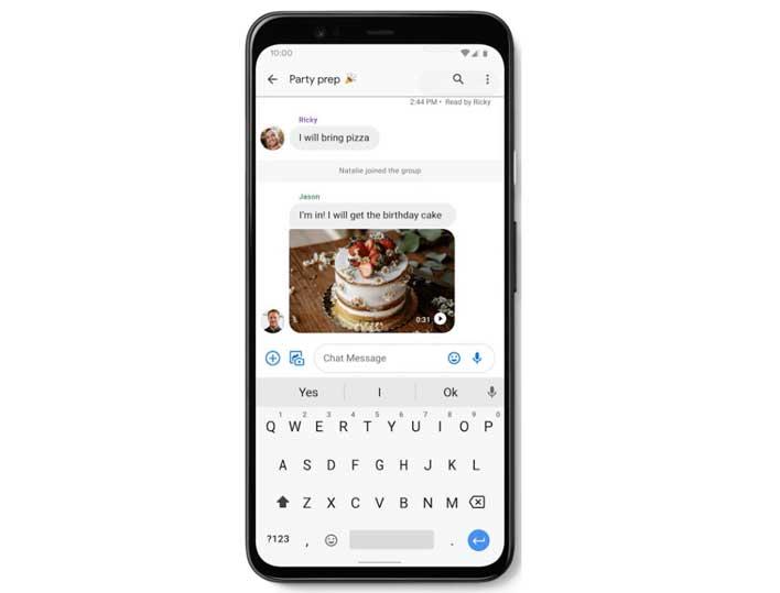 android rcs google