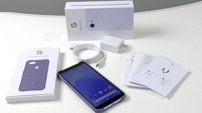 Pixel 3a xl kit with case