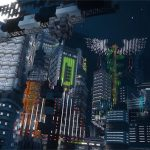 Minecraft Enthusiasts Build A Fantastic Cyberpunk 2077 Inspired Future City You Can Explore Soon
