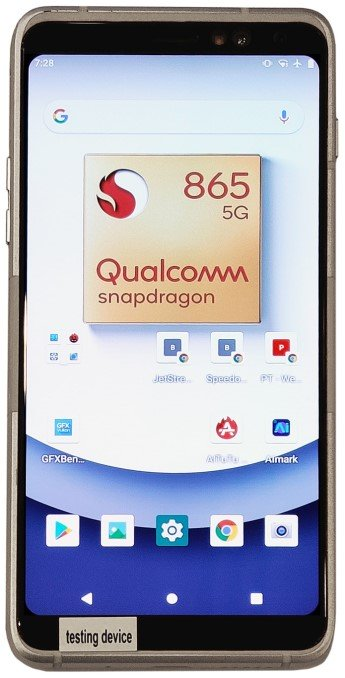 snapdragon 865 front