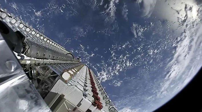 spacex starlink satellites