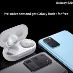 Samsung Galaxy S20 Ultra And S20+ Pose With Free Galaxy Buds+ In Leaked Promo Photo