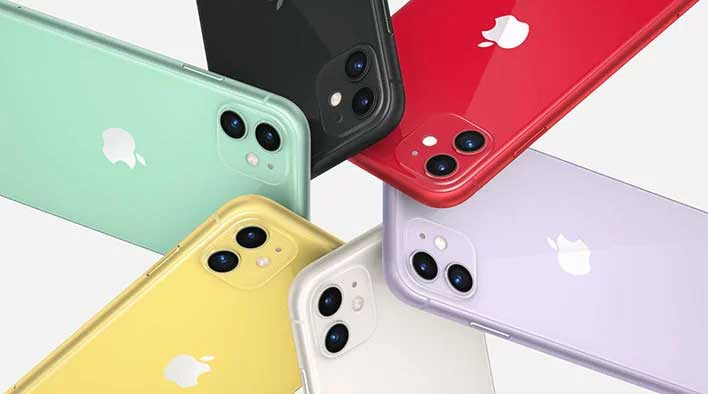 iphone11 colros colors