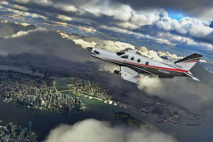 ms flight sim city