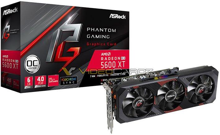 ASRock Phantom Gaming Radeon RX 5600 XT
