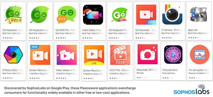 Fleeceware Apps