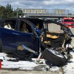 Tesla Autopilot crash driver 'was playing video game'