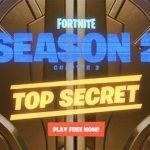 Fortnite's 'Top Secret' Season 2, Chapter 2 Launches Today Alongside New Battle Pass