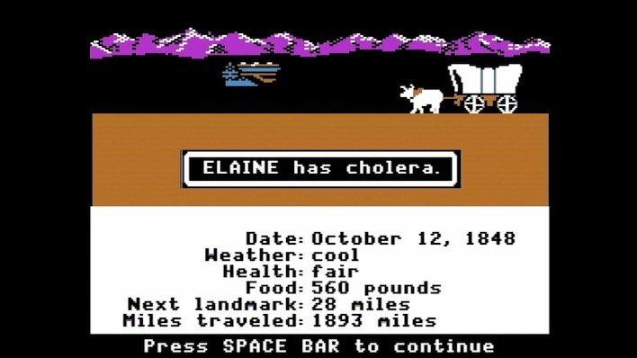 apple ii cholera