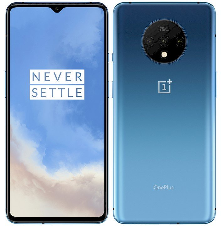 oneplus 7t front and back