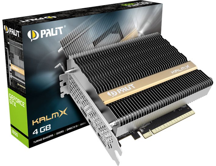 Palit GeForce GTX 1650 KalmX