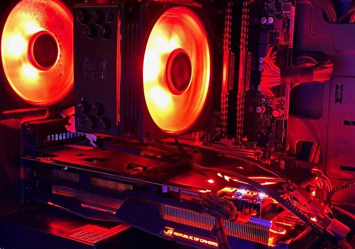 rx5600xt rgb masterbox lite 3