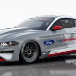 Watch Ford's 1400HP Mustang Cobra Jet Electric Dragster Lay Rubber At The Track