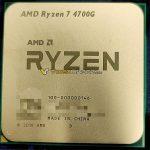AMD Ryzen 7 4700G 8-Core Zen 2 Renoir Desktop APU Smiles For The Camera