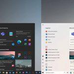 Here's Microsoft's New Windows 10 Iron (Fe) 21H1 Update Start Menu And A Few Key Details