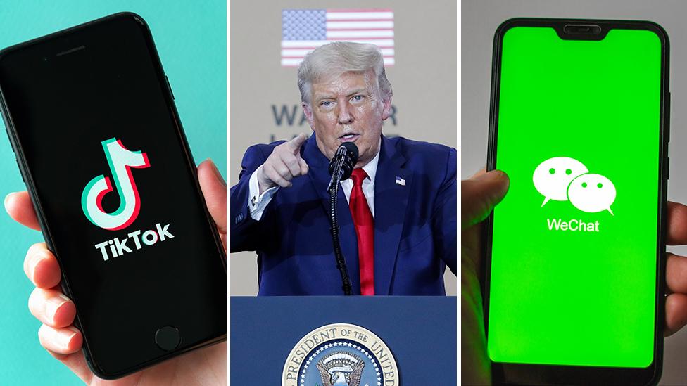 TikTok/Donald Trump/WeChat