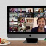 Virtual office Christmas parties organised on Zoom
