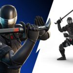 G.I. Joe Fortnite Snake Eyes Skin And Action Figure Deliver Ultimate 80s Kid Nostalgia Gaming Fun